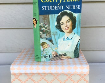 Vintage Book - Cherry Ames: Student Nurse By Helen Wells for sale - copyright 1943 - Kids chapter book