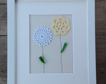 Pictures,  crochet flowers, home decor, home living, flowers crochet