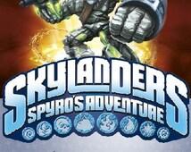 Dark Skylanders Invitation, Skylanders Birthday Party Design, Skylanders Digital File Design - SK_5