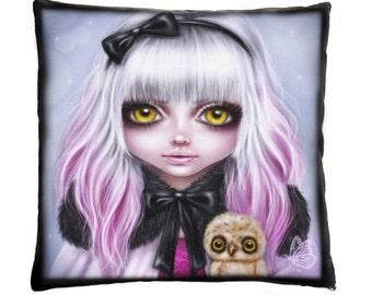 Behind These Golden Eyes ~ Cushion