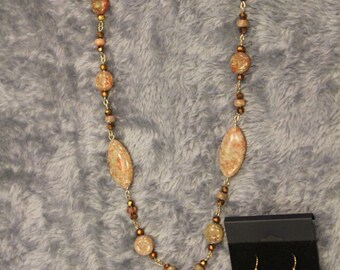 Necklace and Earring Set - Item No. 21