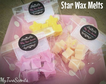 Vanilla & Jasmine Star Wax Melts