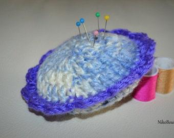 Handmade Crochet Pincushion.
