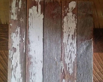 reclaimed barn wood  photo backer place setting kitchen  plant stand topper didplay vintage wood weathered wood faded