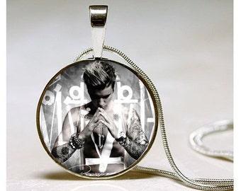 Justin Bieber Necklace - Justin Bieber Purpose Album Jewelry- Bielieber Gift- Jewelry Gift for Justin Bieber Fan - Justin Bieber Purpose