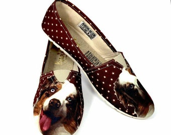 Australian Shepherd Shoes  Brown !!