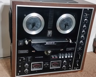 Sony TC-730 Reel to Reel Tape Recorder. Excellent Vintage