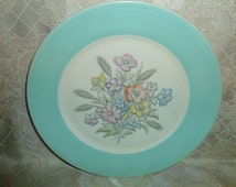 Vintage Limoges Dinner Plate Beautiful Pattern Triumph Made in USA