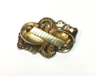 1900s Gold Filled  Brooch Pin