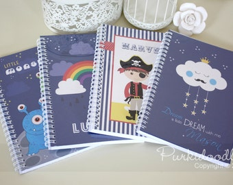 Doodle Pad (Boys) - customised with your boys name