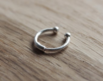 Simple septum ring