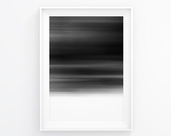 Abstract Print, Bedroom Art, Abstract Art, Modern Abstract, Black And White Prints, Minimalist Poster, Fall Decor, Scandinavian Modern, Art