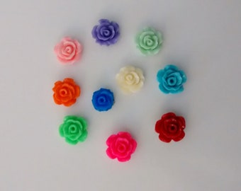 Floating Rose Charms