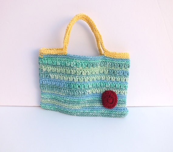 Crochet Girl Bag : Crochet Girls Bag**crochet hand bag, teen bag, teenager bag,gifts for ...