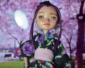 OOAK Miko |Ever After high doll