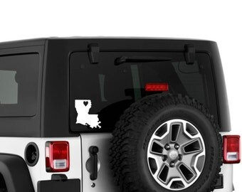 Dirty Girl Jeep Vinyl Decal Jeep Wrangler By