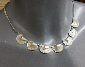 Necklace necklace 925 Silver shell design SK796