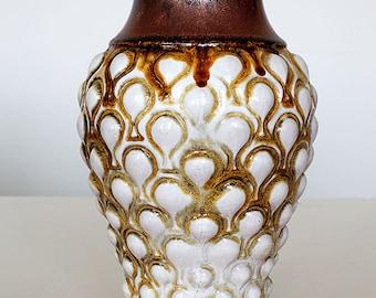 Vase 7283 - 25 in a rare special design, Carstens Tönnieshof, West German Pottery, 70'ties