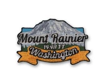 Mount Rainier Mountain Patch