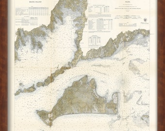 0399-Muskeget Channel to Buzzard's Bay Nautical Chart 1860