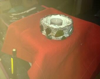 cement candle sticks ORESTIS
