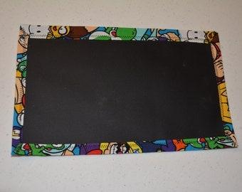 Super Mario Travel Chalkboard Mat