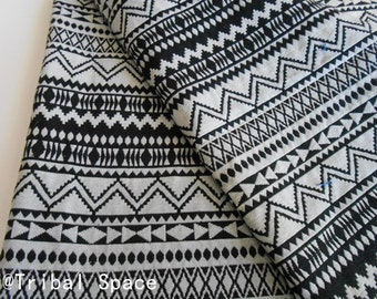 Bohemian Fabric Ethnic Fabric Geometric Pop Fabric Tribal Fabric Aztec Fabric Hand Woven fabric - half (1/2) yard (BHI_006)