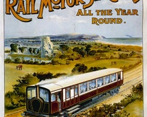 London Brighton & Southcoast Railway,British Railways,Steam Train, Retro,Vintage,Classic, Metal Sign (A5) Size no 537
