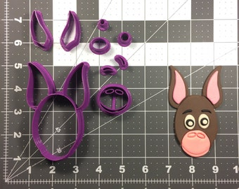 Donkey Face 100 Cookie Cutter Set