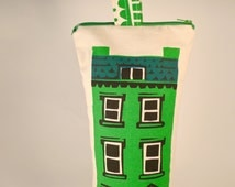 Screenprinted House doorstop