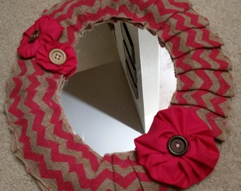 Round Revamped Mirror