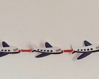 Little Pilot Party Banner  Boys Party Bunting