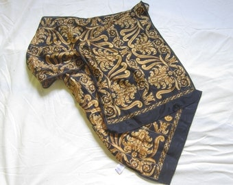 Vintage Echo Silk Scarf Made in Japan