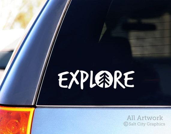 Explore Car Decal Vinyl Sticker Vinyl Decal Outdoor