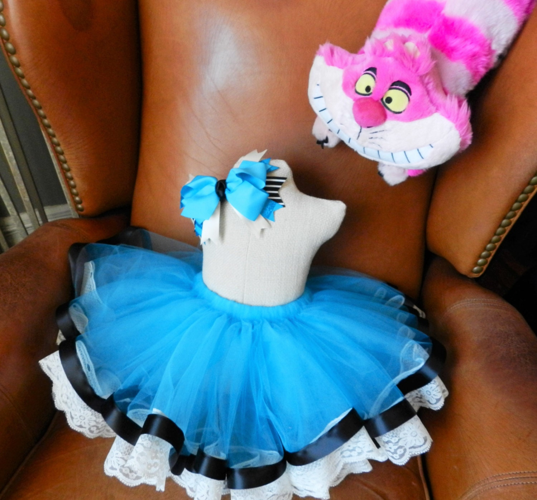 White apron alice wonderland costume - Alice In Wonderland Dress Alice In Wonderland Tutu Halloween Costume Alice In Wonderland Costume Birthday Tutu Girls Costume
