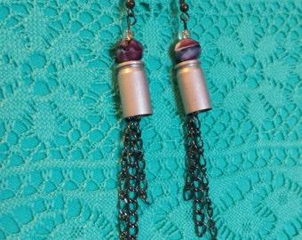 Shell casing earrings