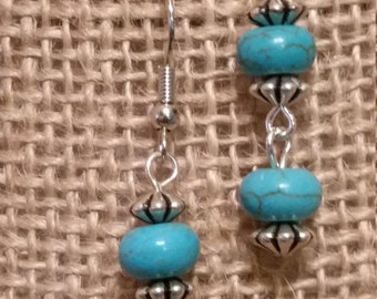 SALE - SALE - Turquoise Earrings, Turquoise Jewelry, Western Earrings, Western Jewelry, Earrings