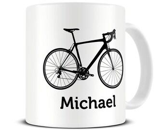 Bicycle Mug - Bike Gifts - Personalised Bike Mug - Gifts for Cyclists - Bike Mug - Cycling Gifts - Coffee Mug - MG573