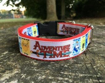 Adventure time collar