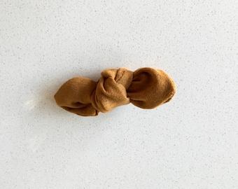 Barrette loop Clip - Tan