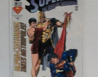 1996 SupermanThe Man Of Tomorrow #2 Lex Luthor And The Parasite VF-NM Unread Vintage DC Comic Book