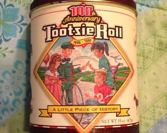 Tootsie Roll 100th Anniversary (1896-1996) Limited Edition Collectors Tin (5th of the Series).