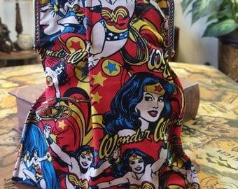 Wonder woman clutch