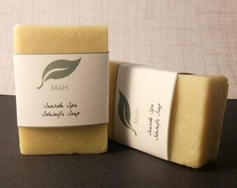 Seaside Spa-Natural Shampoo Bar-Sea salt shampoo-Volumizing shampoo-Dandruff shampoo-Jojoba oil+Neem Oil Hair Care-Psoriasis Shampoo Scalp