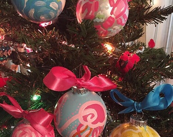 Lilly Pulitzer Ornament