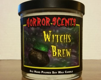 8oz Witchs Brew Candle - Horror Scents