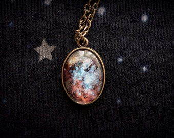 Nebula necklace - constellation necklace - astronomy necklace