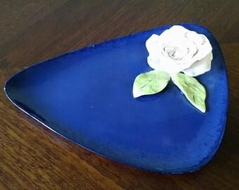 Vintage Ceramic Jewelry Dish