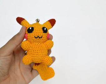 Pikachu En Amigurumi : Amigurumi pokemon Etsy DE