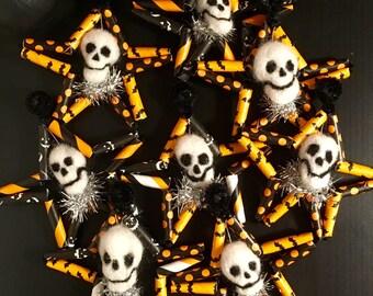 Skull Star Ornaments